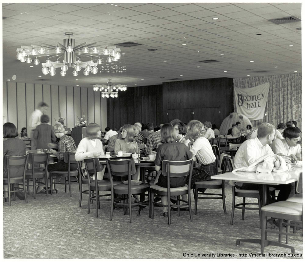 Ohio University Bromley Hall dining hall mid 1960s  Flickr