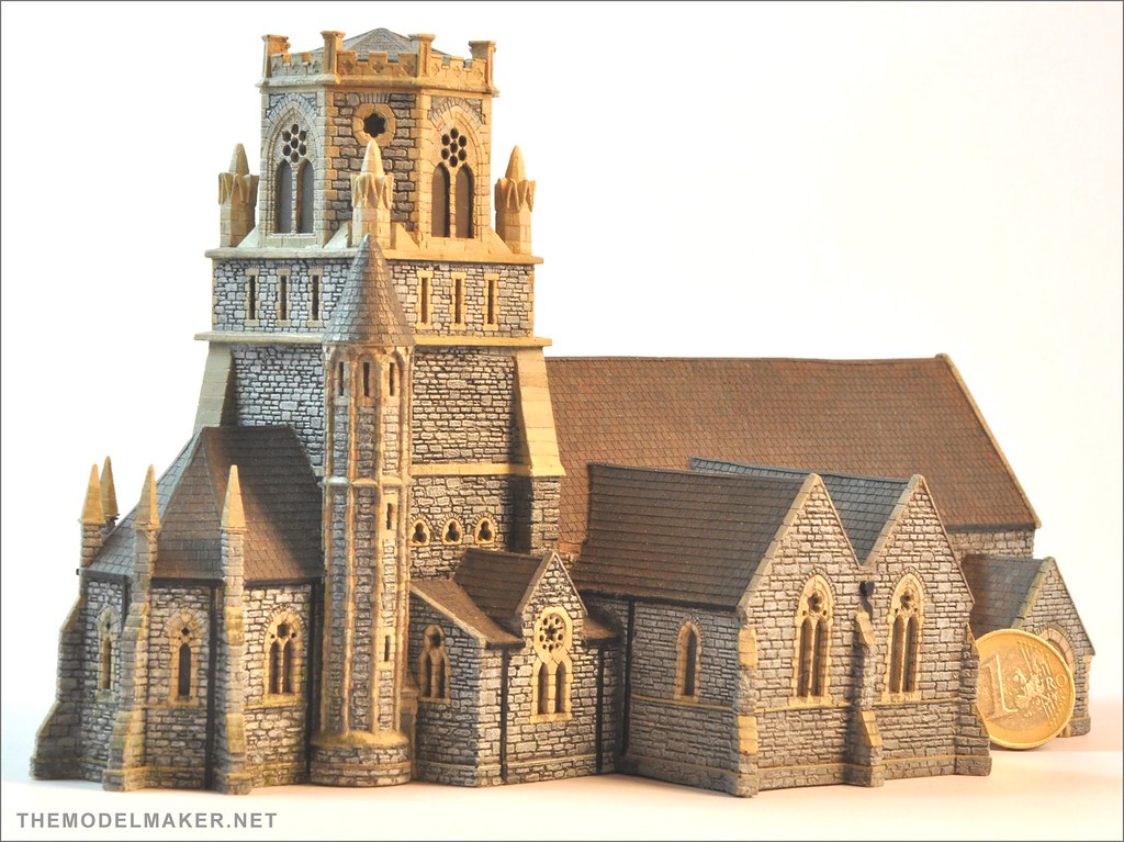 Bartholomew church wip 13  First cast of my scratchbuild