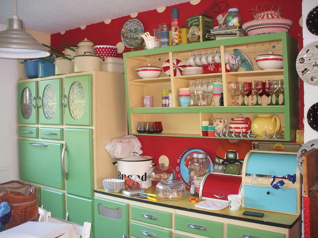 Whitneys kitchen 50s style  Ive taken these photos for