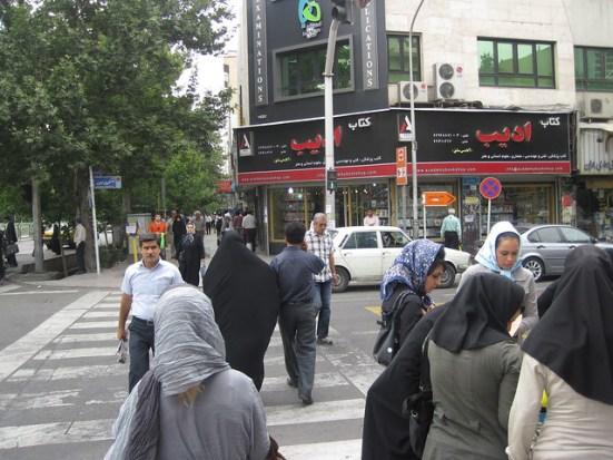 Mujeres en las calles de Teherán