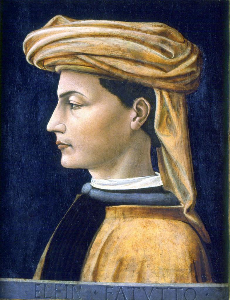 Domenico Veneziano Portrait Of A Young Man 1441 Flickr