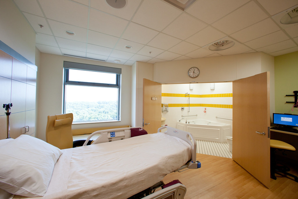 Private Patient Room  Von Voigtlander Womens Hospital Bi