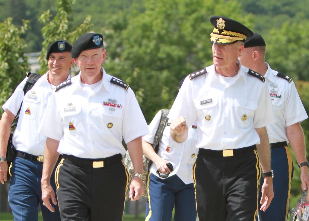 Gen Martin E Dempsey 24  West Point Superintendent Lt