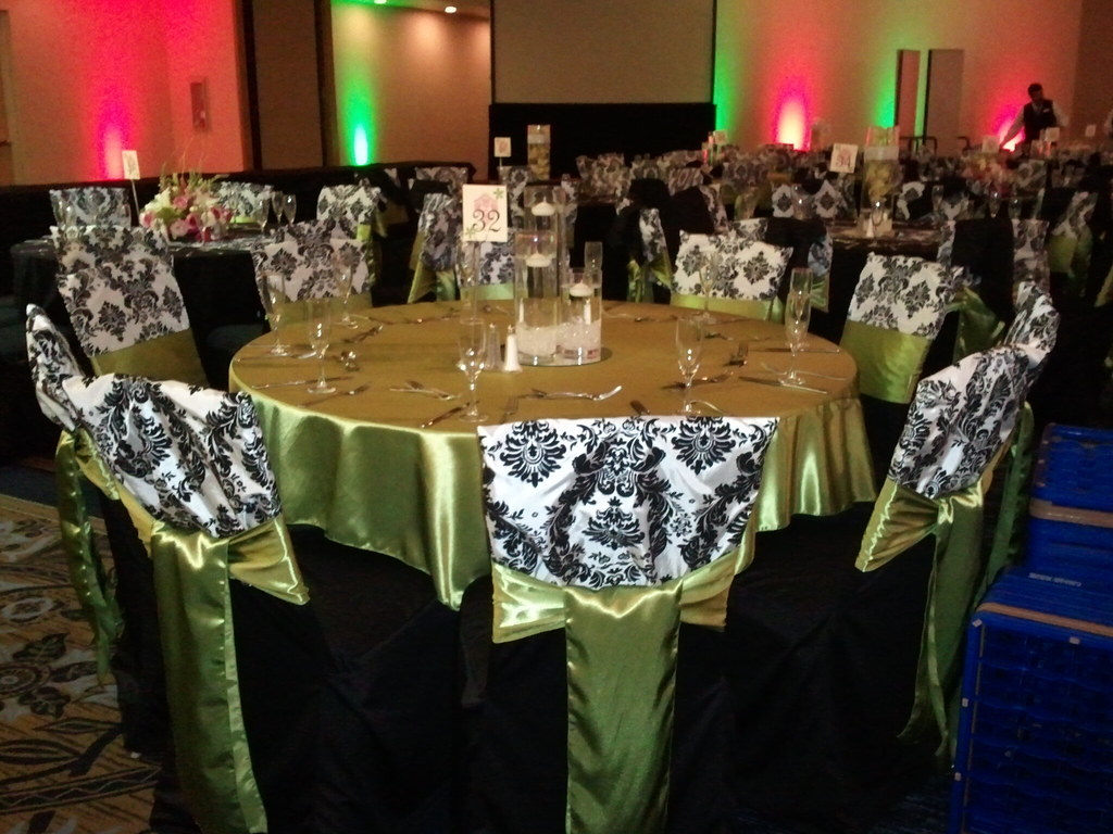 Green Chair Covers Wedding Black Chair Covers Black And White Damask Chair C