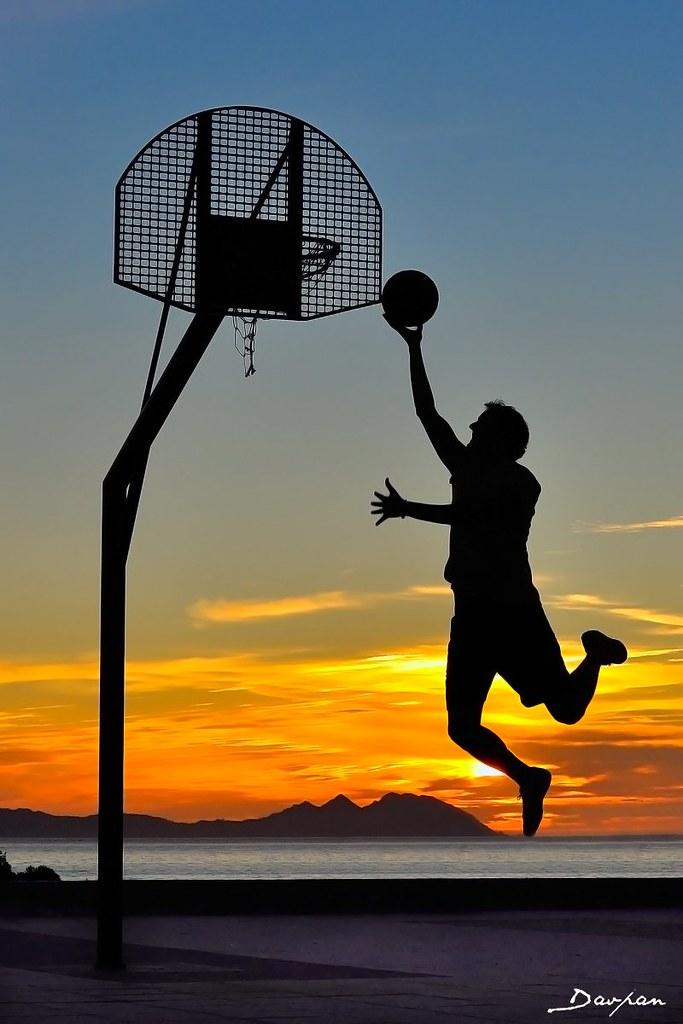 Create Animated Wallpaper Basketball At Sunset Explored Www Davpan Wordpress Com