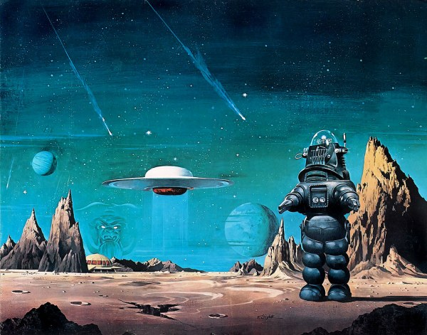 1956 . 'forbidden Planet' James Vaughan