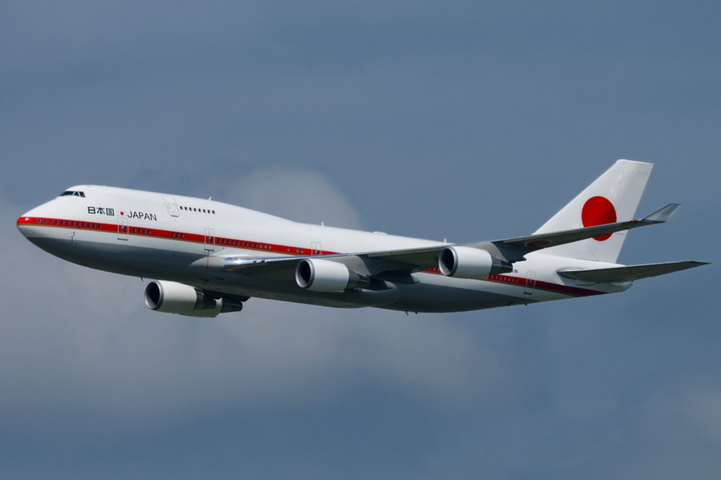 B747-400, Japanese Air Force One
