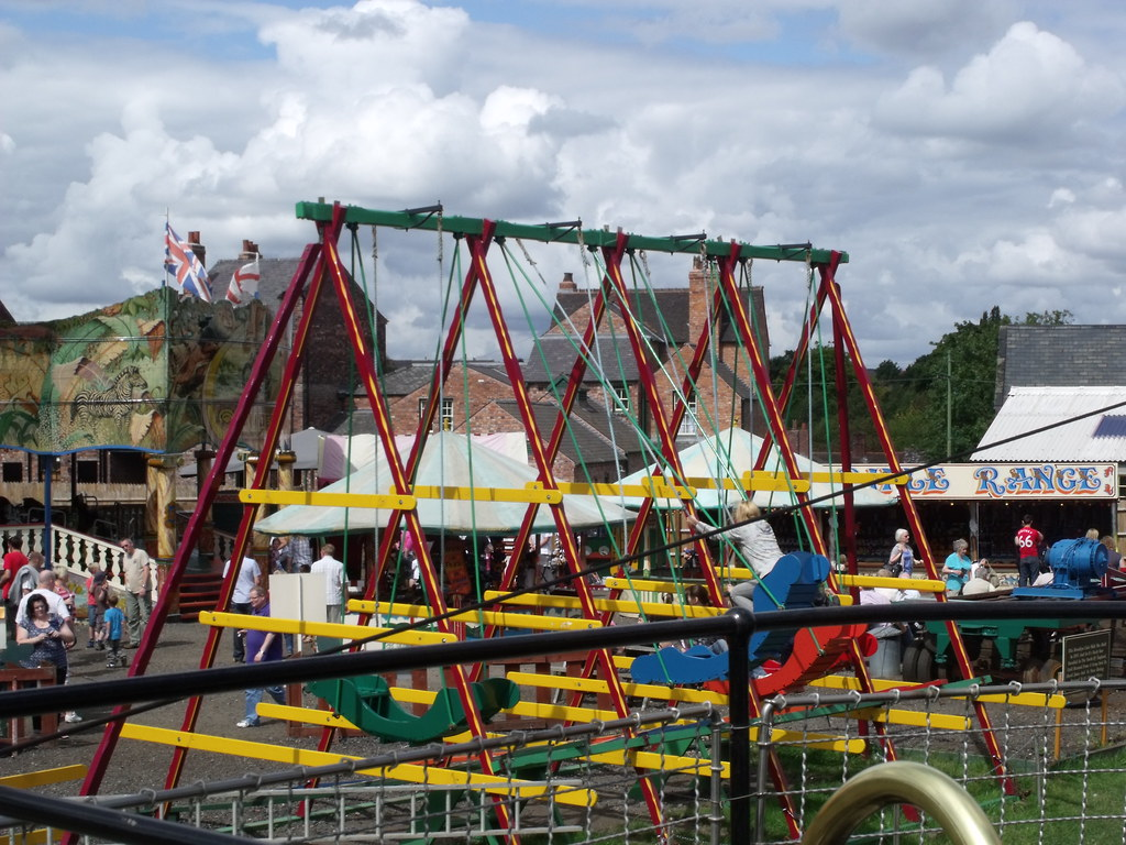 Black Country Living Museum  Fairground  Swingboats  Flickr