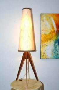 Danish teak tripod floor lamp,60's | Francesca | Flickr