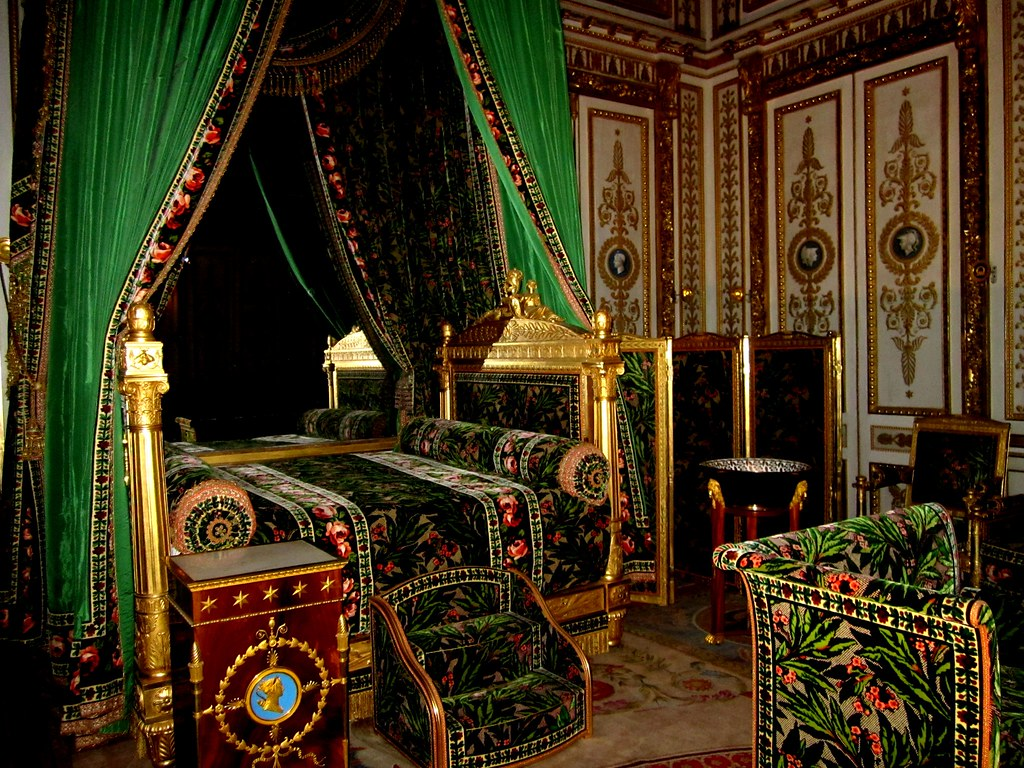 Bedroom at Fontainebleau  The palace of Fontainebleau loca  Flickr