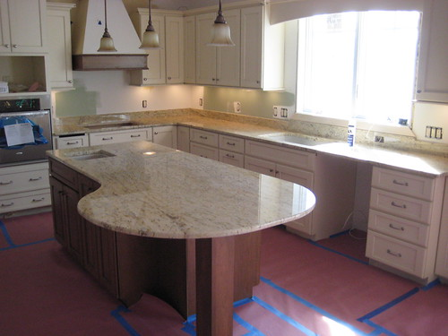 Colonial Gold Granite  Beautify kitchen countertops we