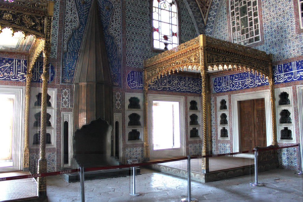 Istanbul Topkap Palace Harem Privy Chamber of Murat II