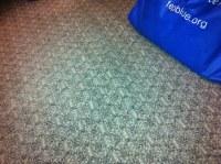 Janice Miller's office | loose carpet - tripping hazard ...