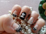 chanel nail design product used