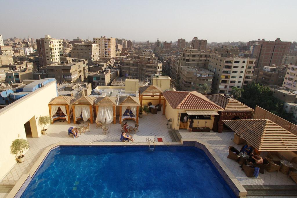 La Piscine Du Barcelo Cairo Pyramids Hotel Giza Gypte