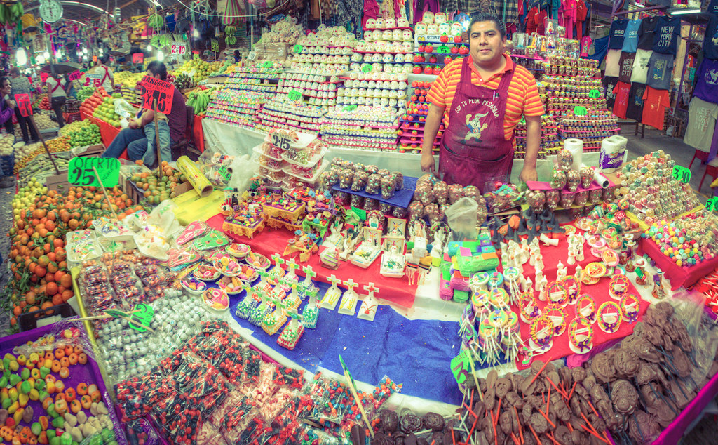 Vendedor de dulces  Carlos Adampol Galindo  Flickr