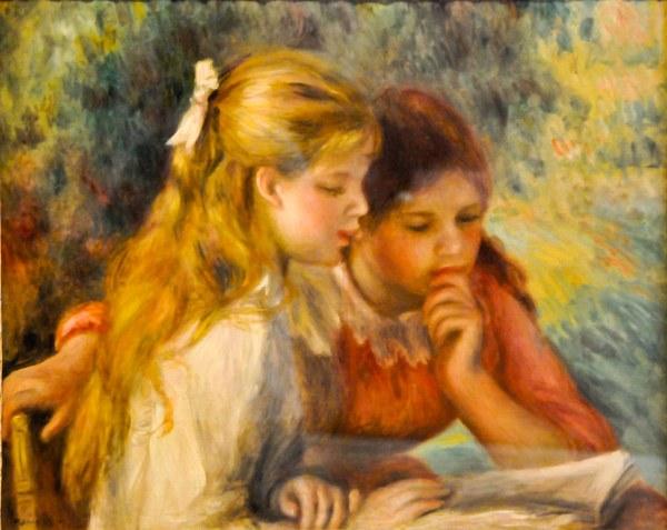 Pierre-Auguste Renoir Paintings in the Louvre