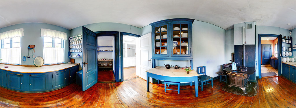 New House Interior Panoramic Kitchen | Historic Kitchen, Ancher's House In