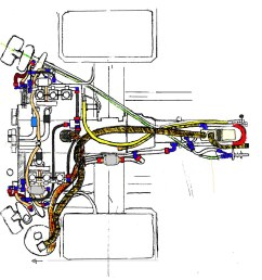 porsche 911 engine porsche 911 gt1 engine details cartoon drawing digital c [ 986 x 1024 Pixel ]