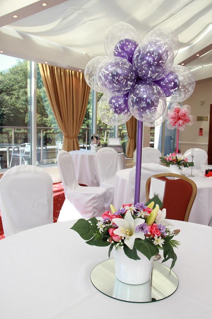 Wedding Balloon Decorations  Table Topairy  Wedding