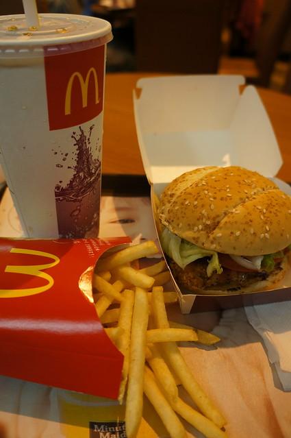麥當勞田園勁辣雞腿堡 | Flickr - Photo Sharing!