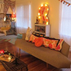 Kitschy Living Room Modern Curtain Styles Cozy Vintage Halloween Valerie Flickr