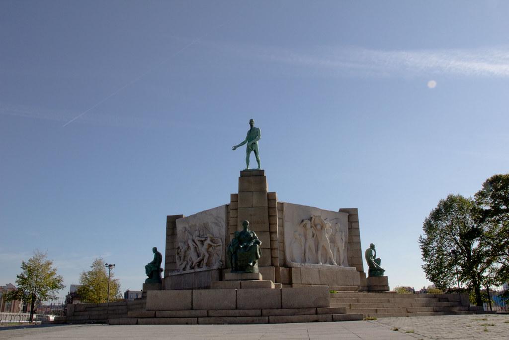 Belgique  Bruxelles  Monument au Travail Constantin Meu  Flickr