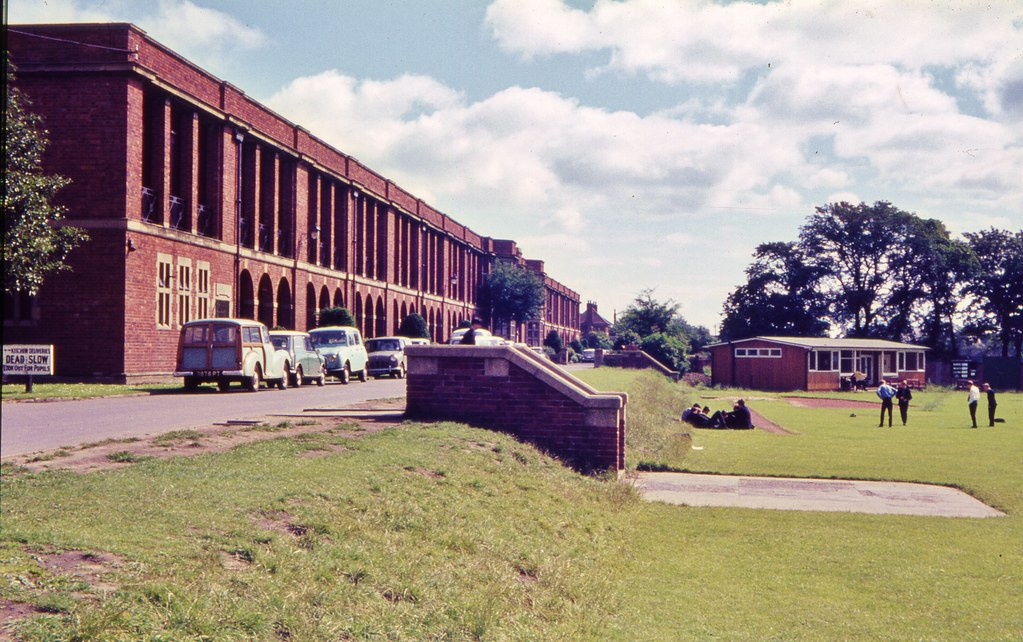 Heaton Grammar School Newcastle 1965  The playing