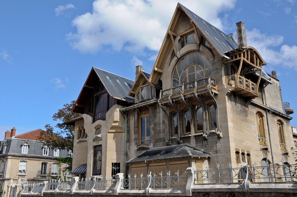 Villa Majorelle Regine Datin  Nancy Tourisme  Villa