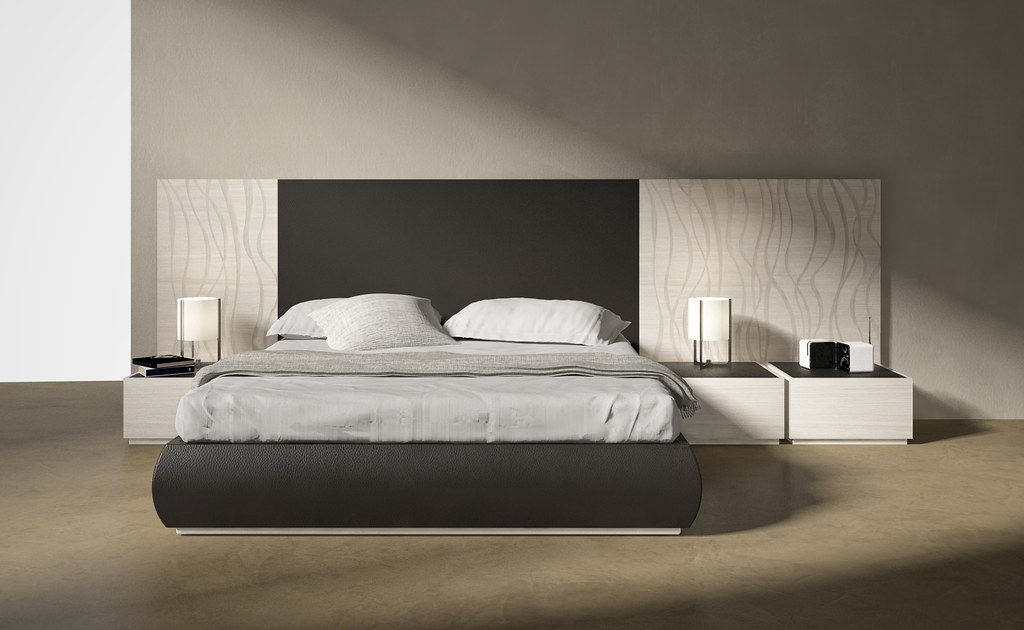 Mazzali THE WALL Bed Letto THE WALL Collection By