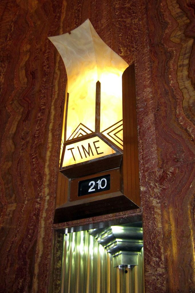 NYC Midtown Chrysler Building Clock The Upwards