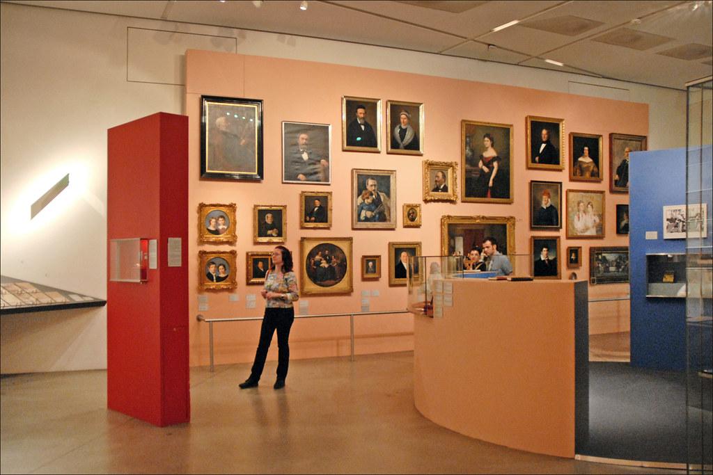 Salle du muse juif Berlin  Exposition sur le rle de la   Flickr