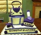 Diva Graduation Cake Sheet With Shoe Box Gum