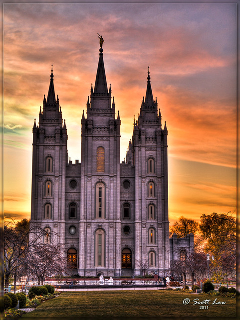 Philadelphia In The Fall Wallpaper Salt Lake Lds Temple Sunset Click On The Image To