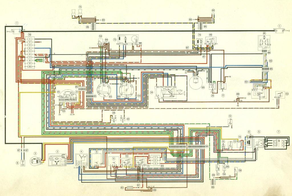porsche 911 headlight wiring diagram 2006 ford expedition wire 1971 2 u2026 flickr1971
