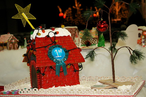 Snoopy Gingerbread House  A Charlie Brown Christmas decorat  Flickr