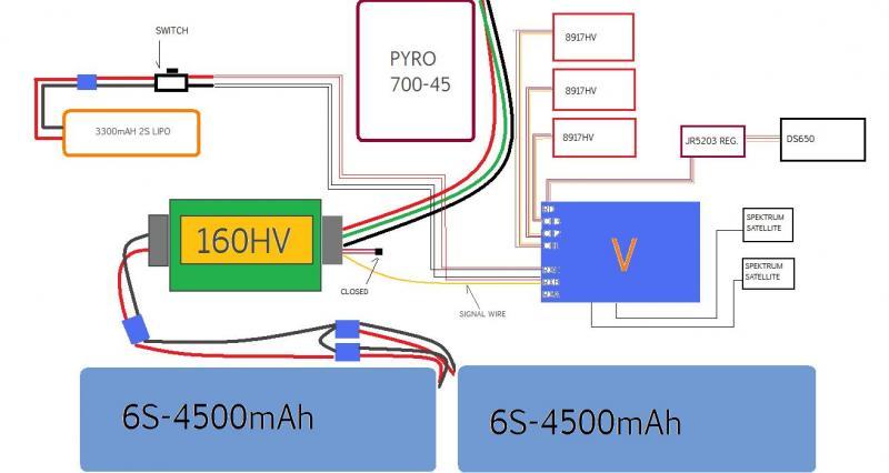 msh brain wiring diagram spitronics saturn ecu mini vbar align 3gx v bar 4 yosemite heli flickr on