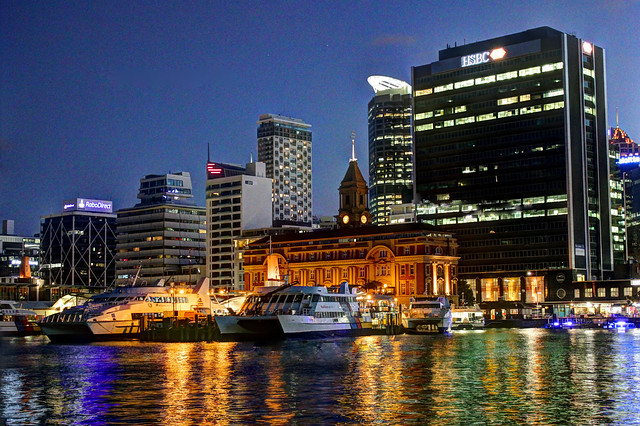 Auckland Harbour Front