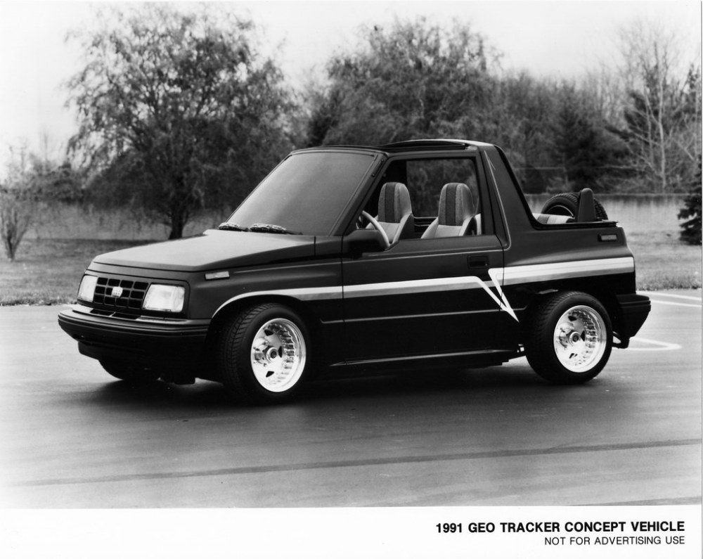 medium resolution of  1991 geo tracker concept vehicle 2 by aldenjewell