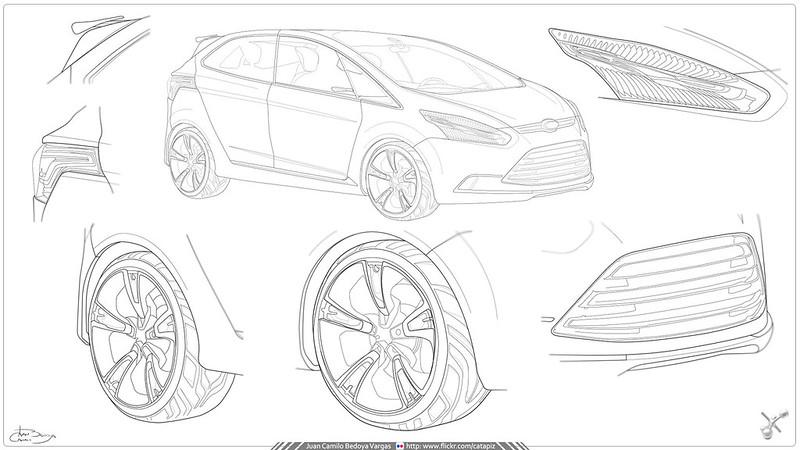 Ilustración Vectorial / Adobe illustrator CS6 / Concept Ca