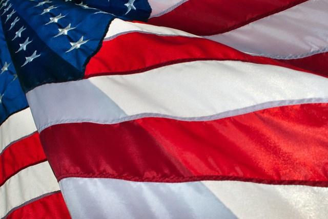 o dia da bandeira (americana) nos EUA