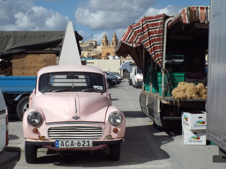 Marsaxlokk Sunday Market, Malta - the tea break project solo female travel blog