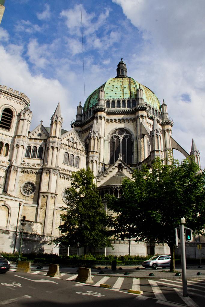 Belgique  Bruxelles  Schaerbeek  Eglise royale Sainte