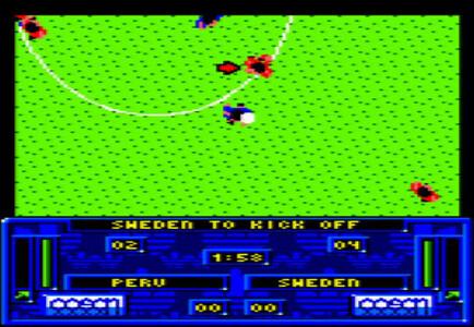CPC Amstrad Adidas Football