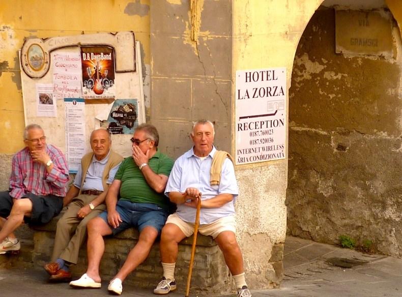 Old Italian Men.