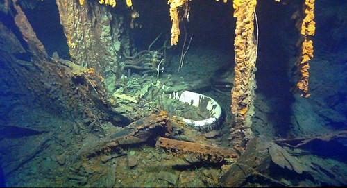 belfast titanic sea bed captain smiths bath  damian