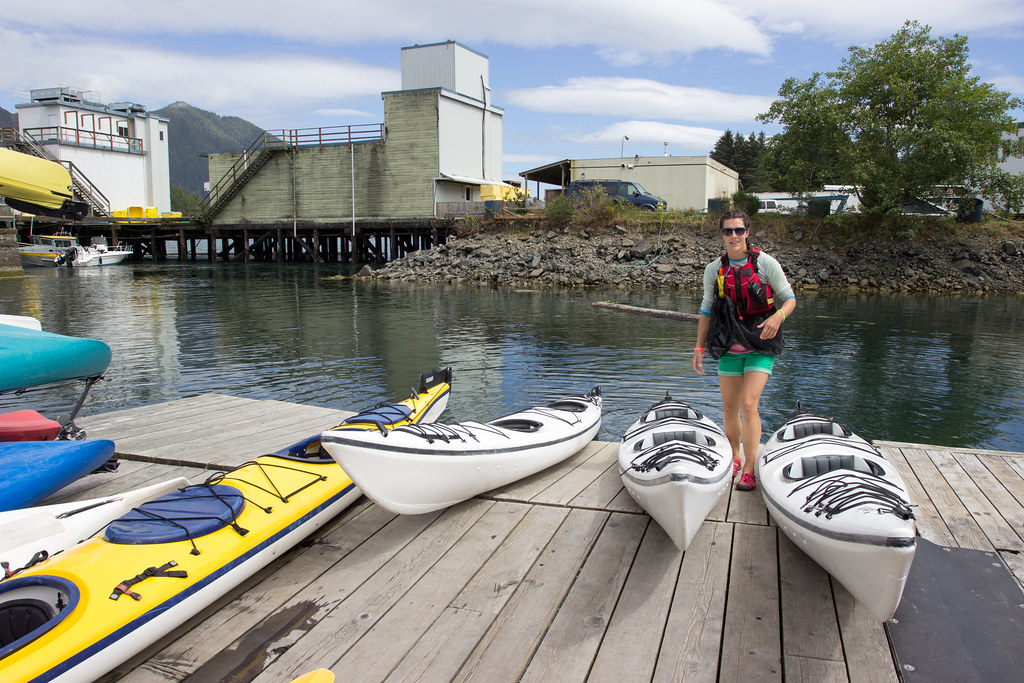 Starting our Paddle West Kayaking Tour