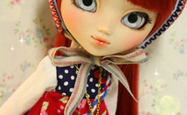 Custom Pullip Doll Dana Cherry By Nerea Pozo Keera