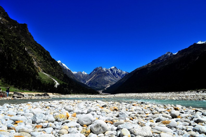 Yumthang valley - Zero Point is close by