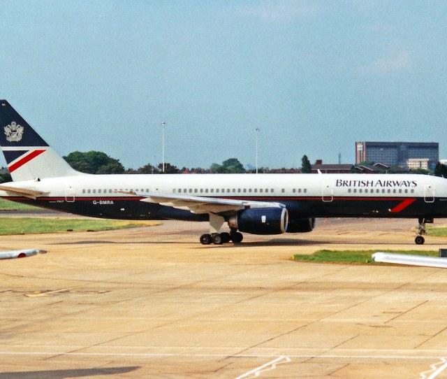 G Bmra  236 British Airways Lhr 24may92 By Ken Fielding